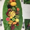 folha da bananeira inteira